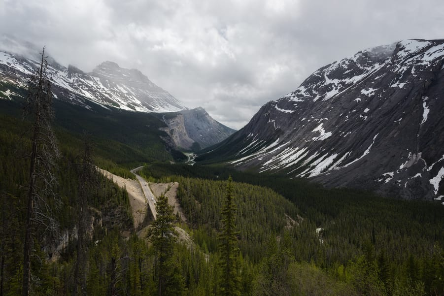 tips to travel to the icefields parkway canada big bend & big hill