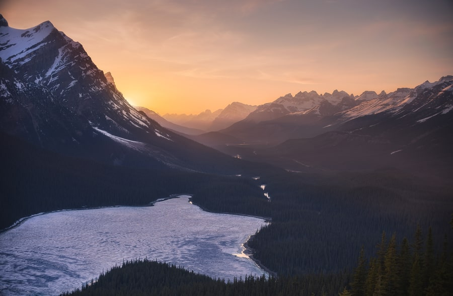 landscape photography canadian rockies photo tours