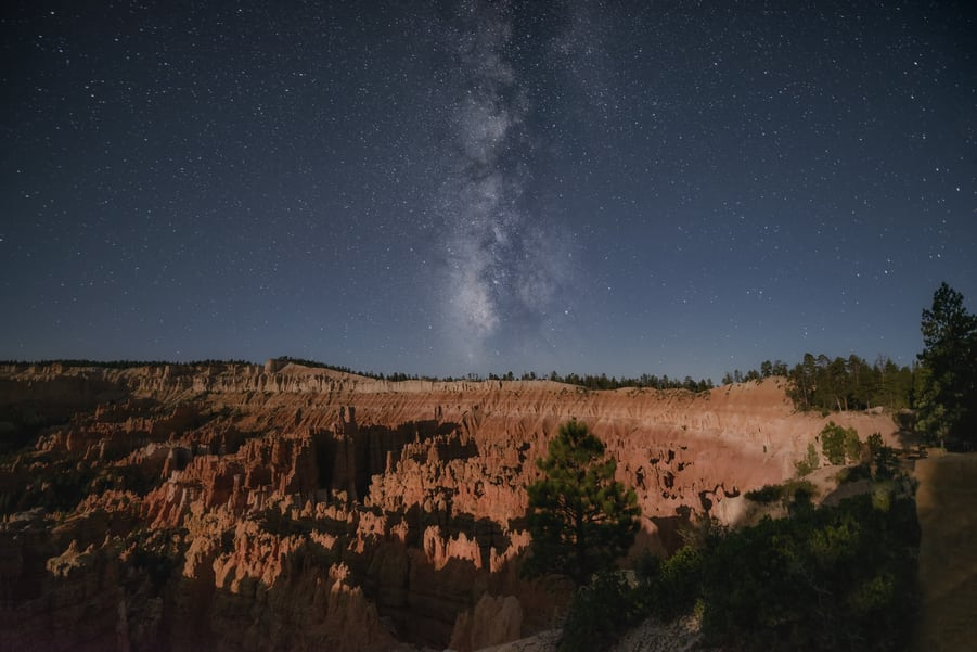 milky way in bryce canyon accommodation
