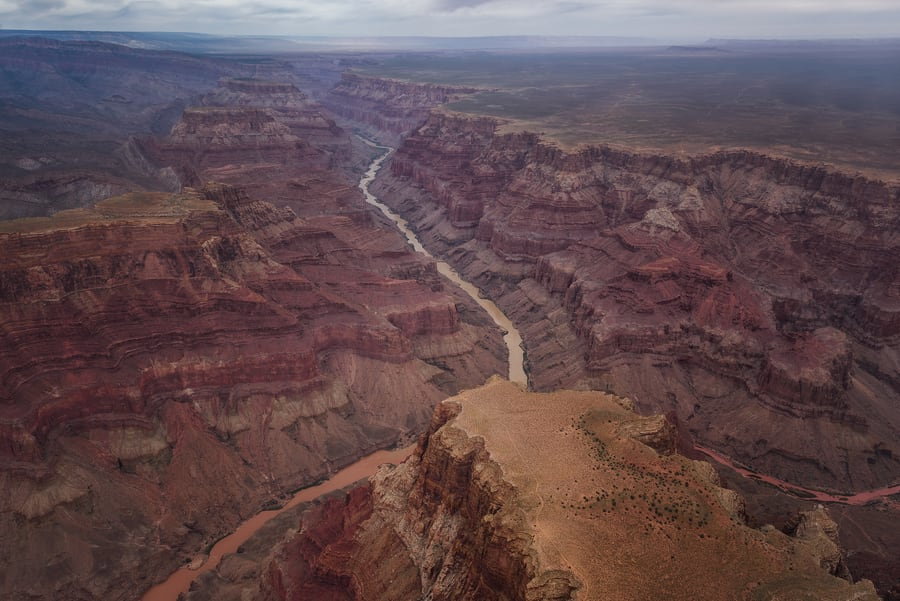 best views of the colorado river from the grand canyon