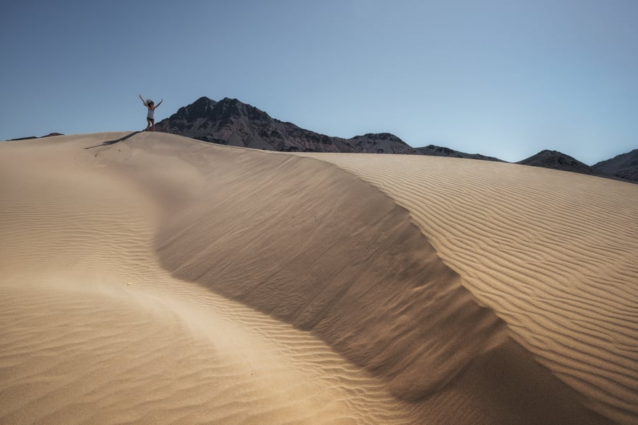 honeymoon west coast usa death valley