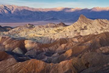 que ver en el valle de la muerte zabriske point