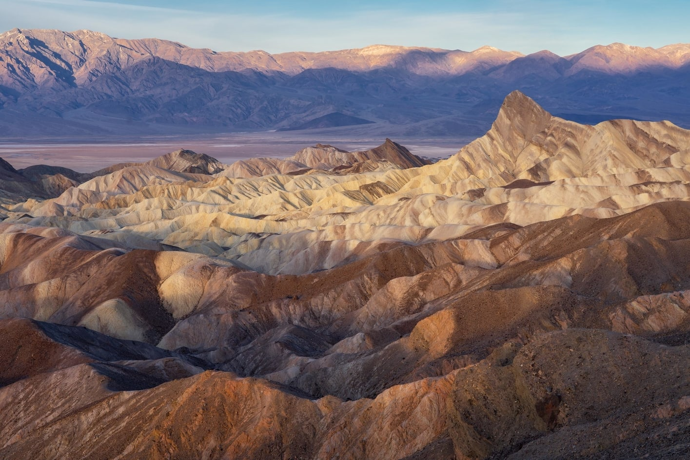 death valley best things to do in zabriske point