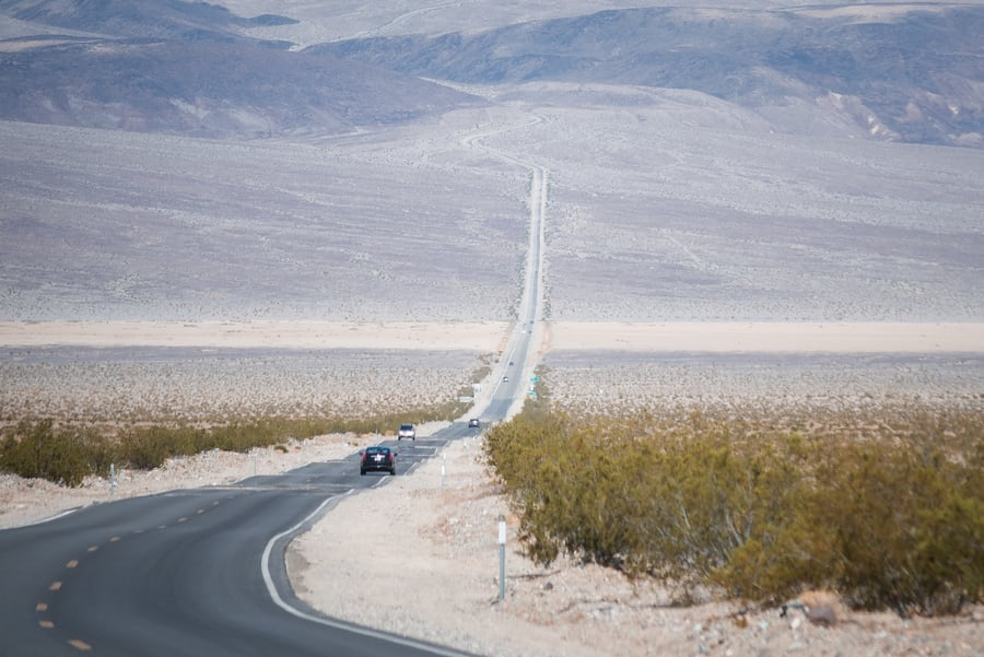 death valley by car best time to go