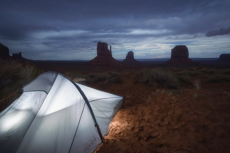 como visitar monument valley en invierno