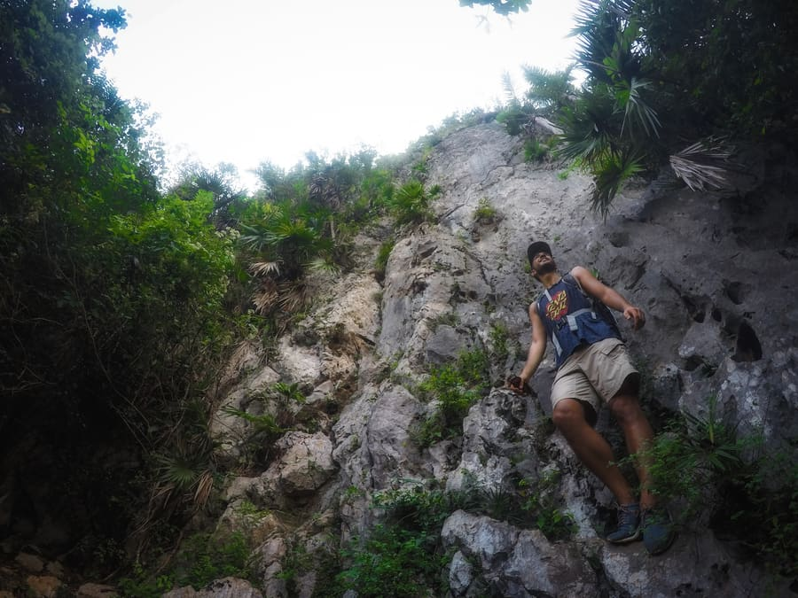 walls used by climbers viñales cuba in 4 days