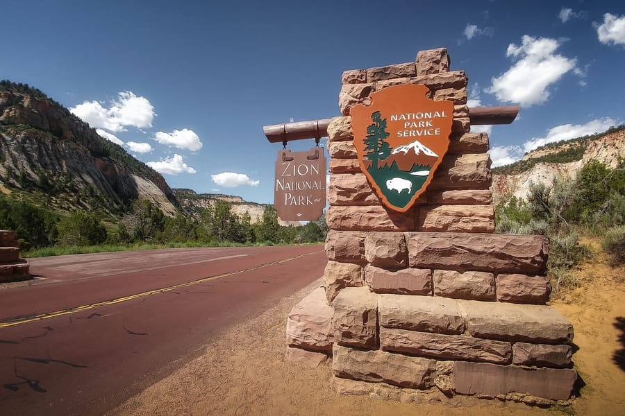 zion national park service where to stay
