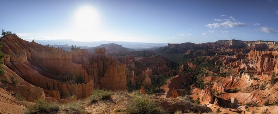 hoodoos Bryce landscape