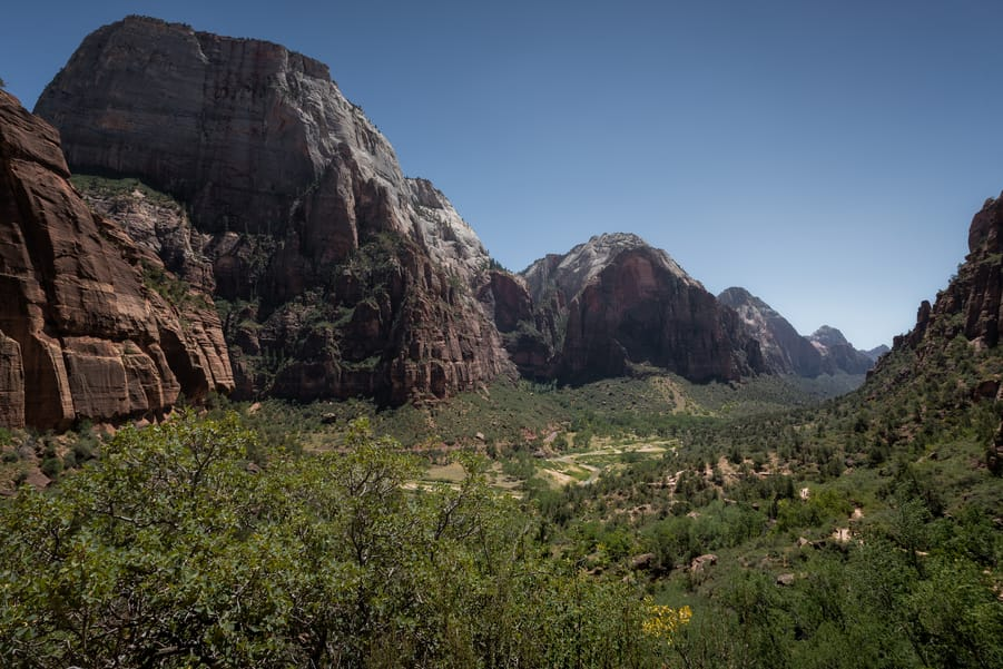 donde dormir en Zion Canyon mejores lugares