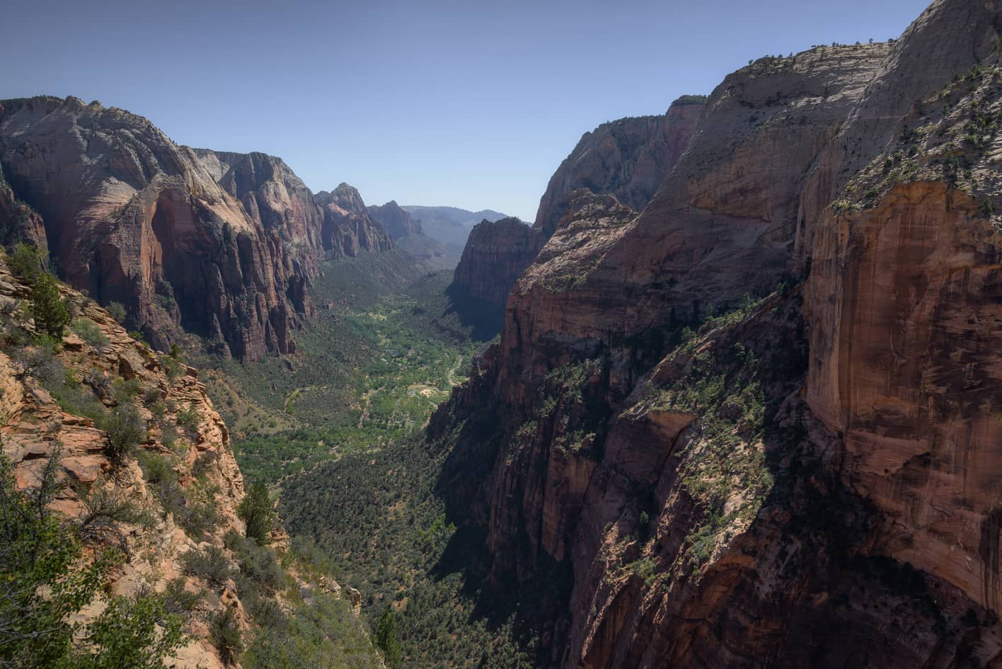 where to take the best pictures in zion national park