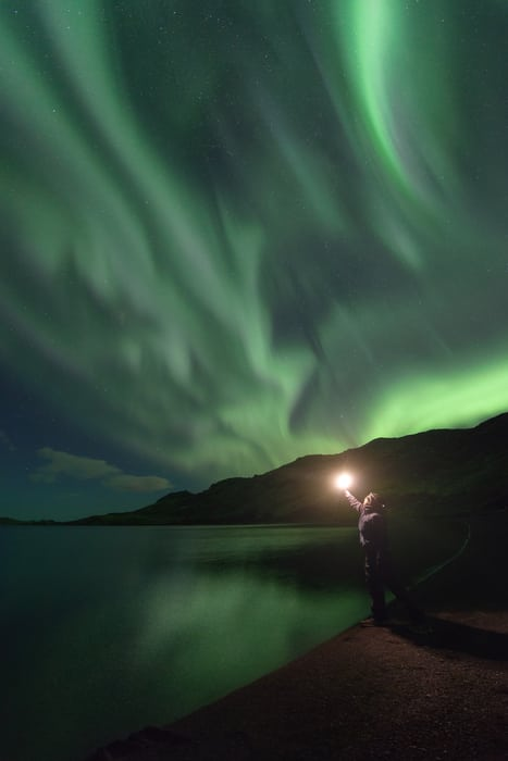 best places to see the northern lights in the golden circle