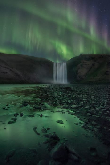northern lights forecast for today Iceland