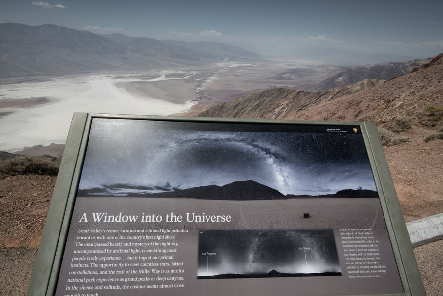 death valley window into the universe