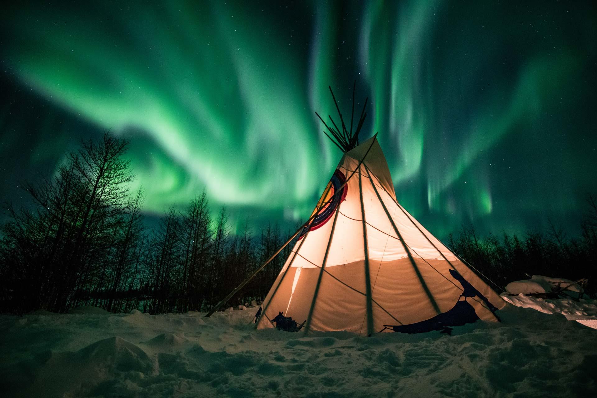 Northern Lights Churchill Manitoba Aurora Borealis