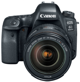 the best camera for travel. photography gear for photo tours. canon 6D MK II