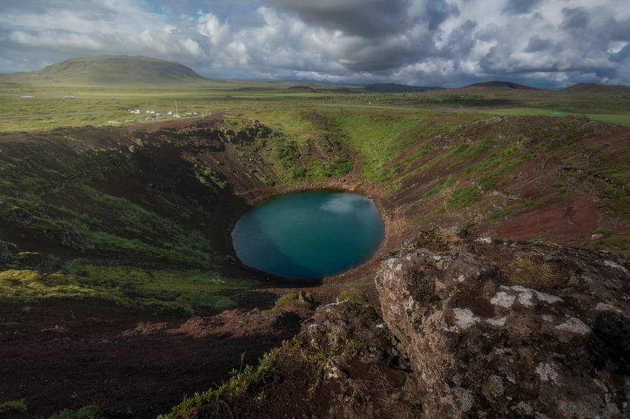 top things to do in an iceland trip kerid crater