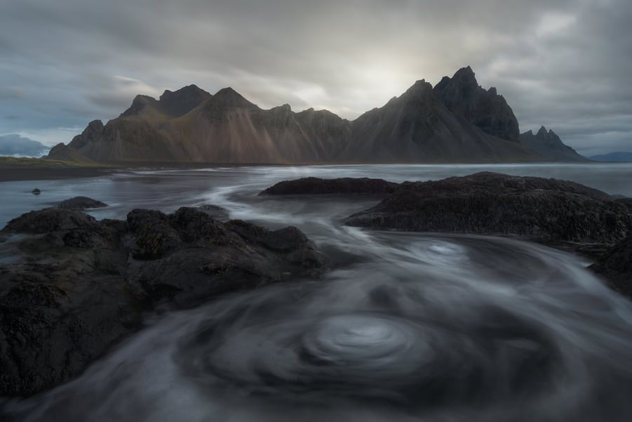 Stokksnes beach and Vestrahorn mountain south iceland best things to do