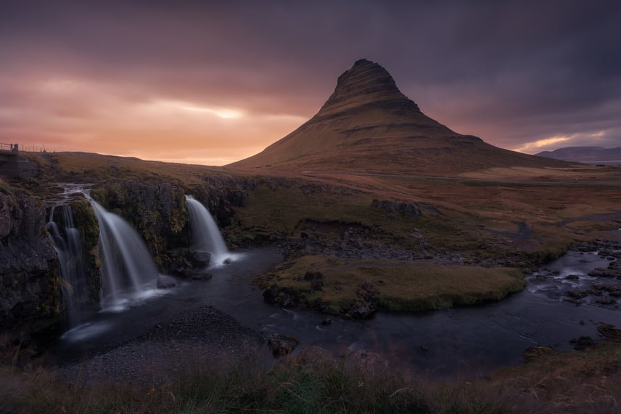 best time to visit iceland kirkjufell