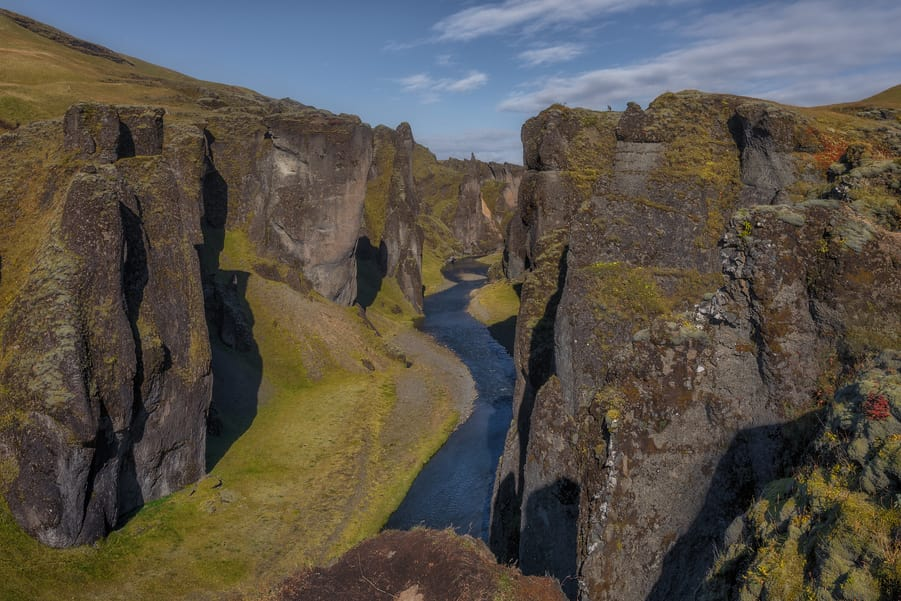 iceland vacation planner must-see places Fjadrargljufur