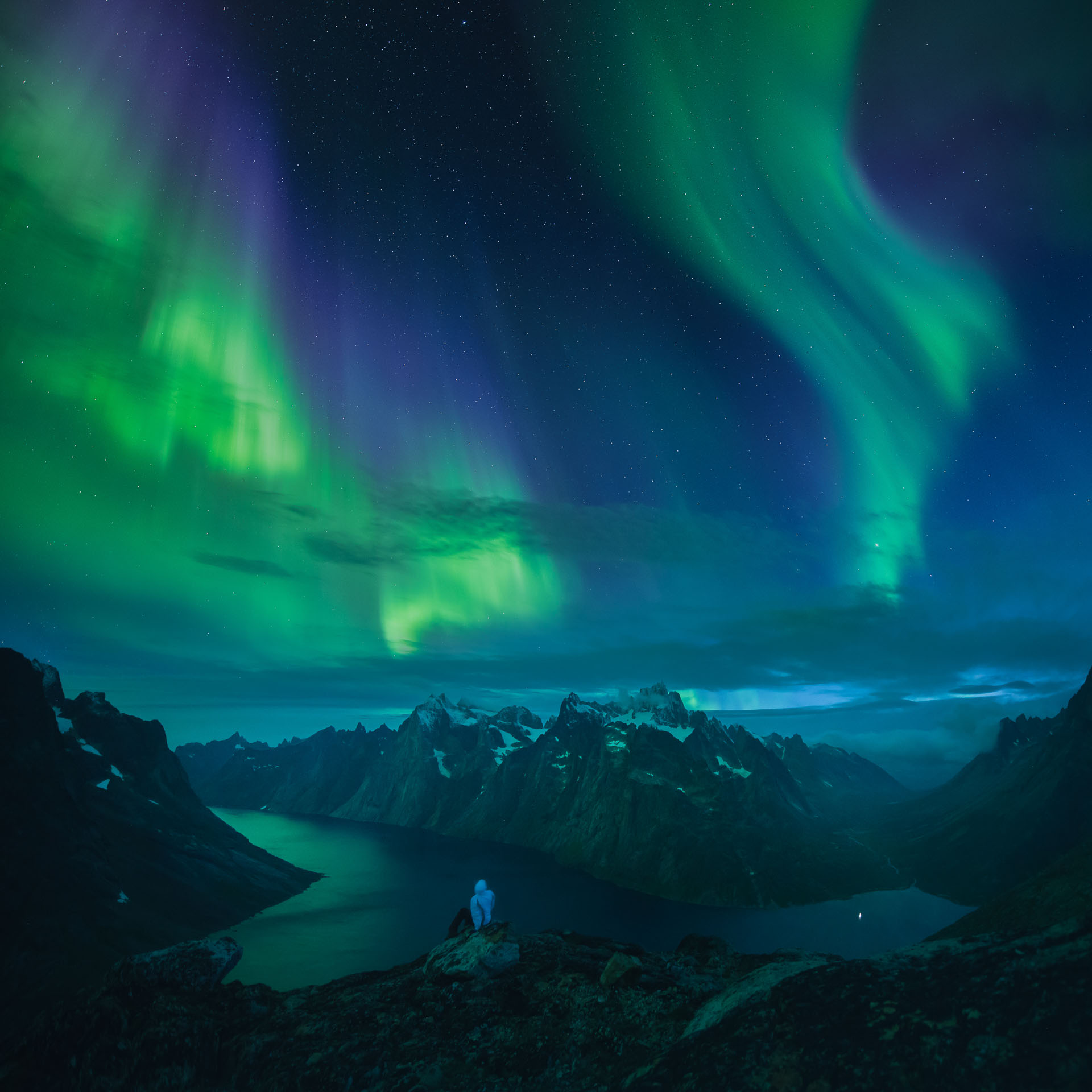 Northern Lights Aurora Borealis Greenland Daniel Kordan Photograph Northern Lights