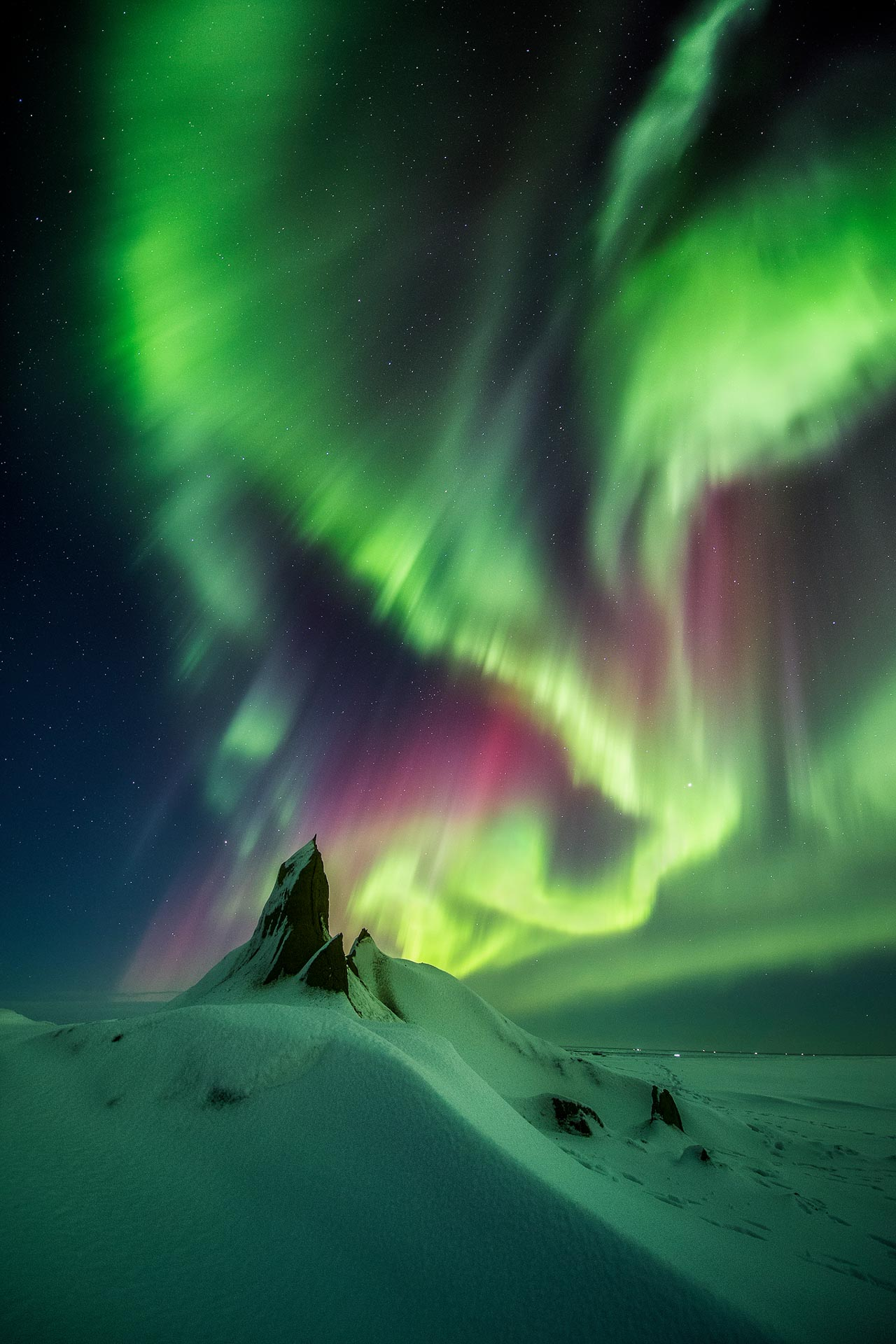 Northern Lights Iceland Aurora Borealis Arctic