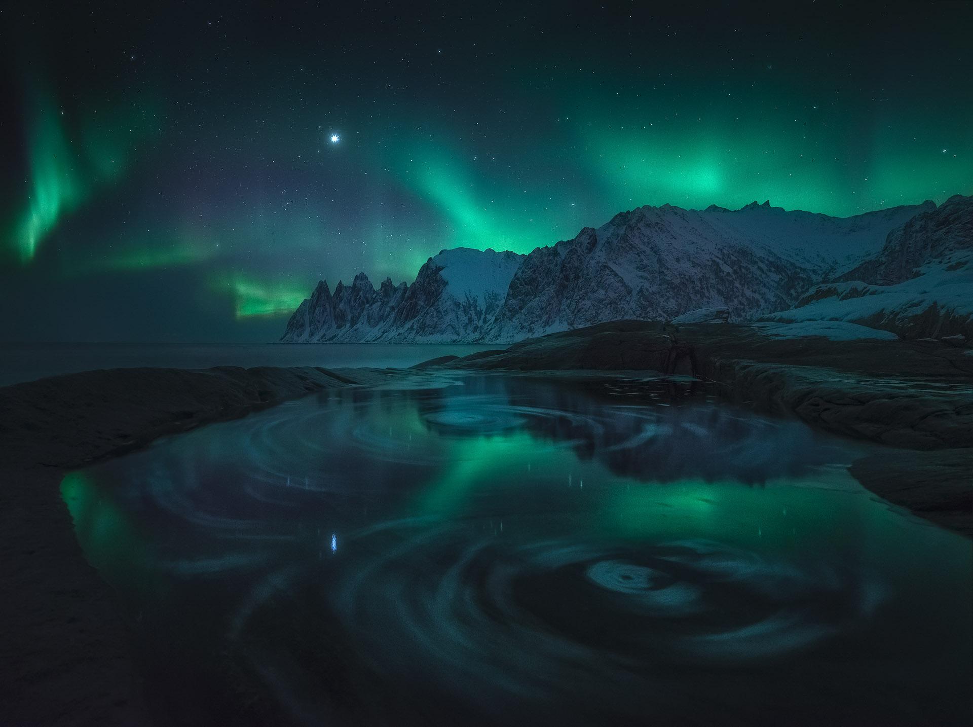 Northern Lights Senja Aurora Borealis Norway