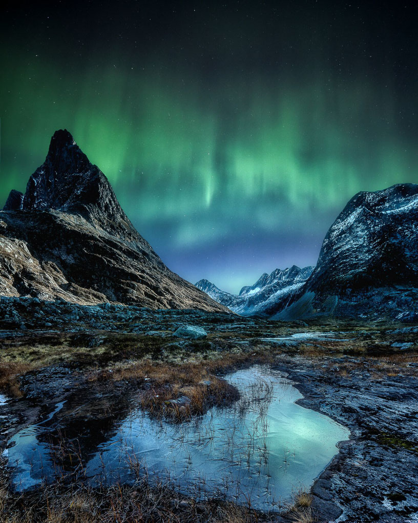 Northern Lights Norway Trollstigen Aurora Solar storm