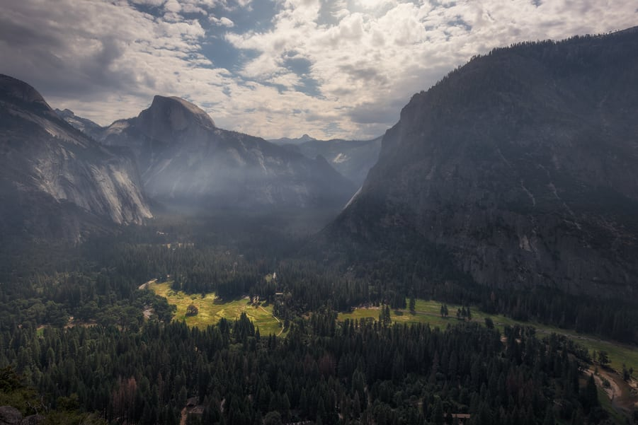 "the valley from the top of the fall - <a href=""https://capturetheatlas.com/visit-yosemite-national-park/"">Yosemite National Park.</a> <a href=""https://capturetheatlas.com/10-day-west-coast-usa-trip/"">United States.</a>"