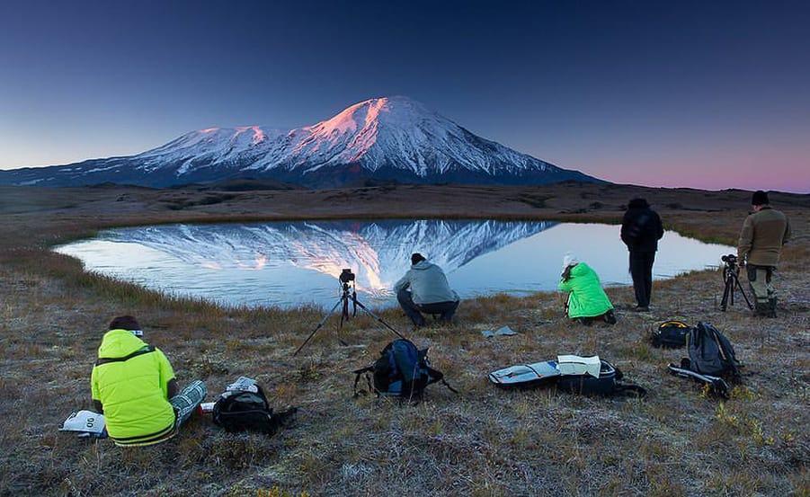 mejores sitios para fotografiar en kamchatka campamento volcan tolbachik