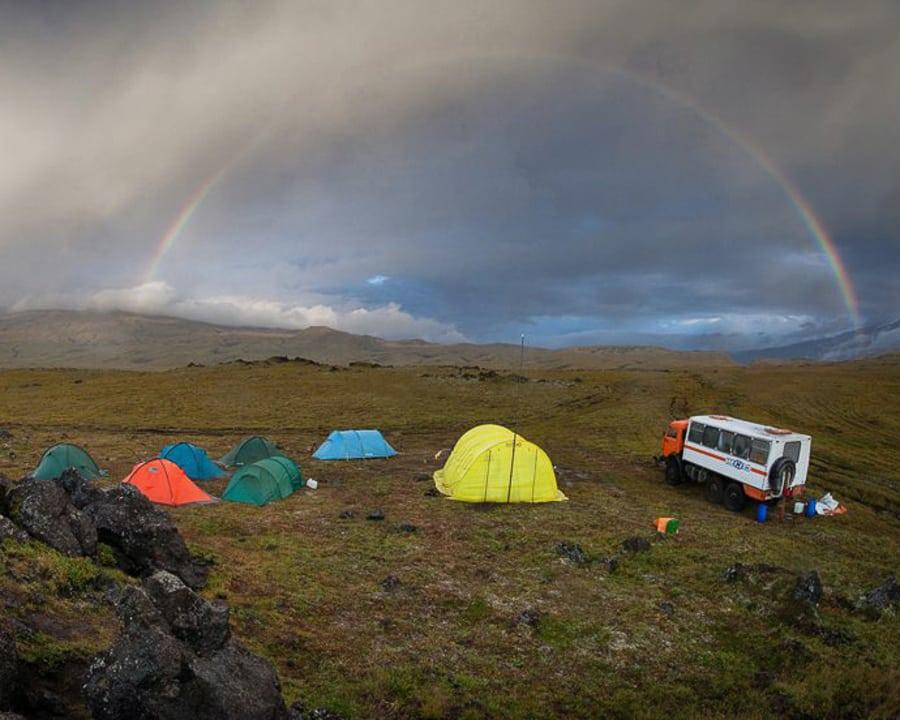 camping kamchatka mejores sitios kamaz