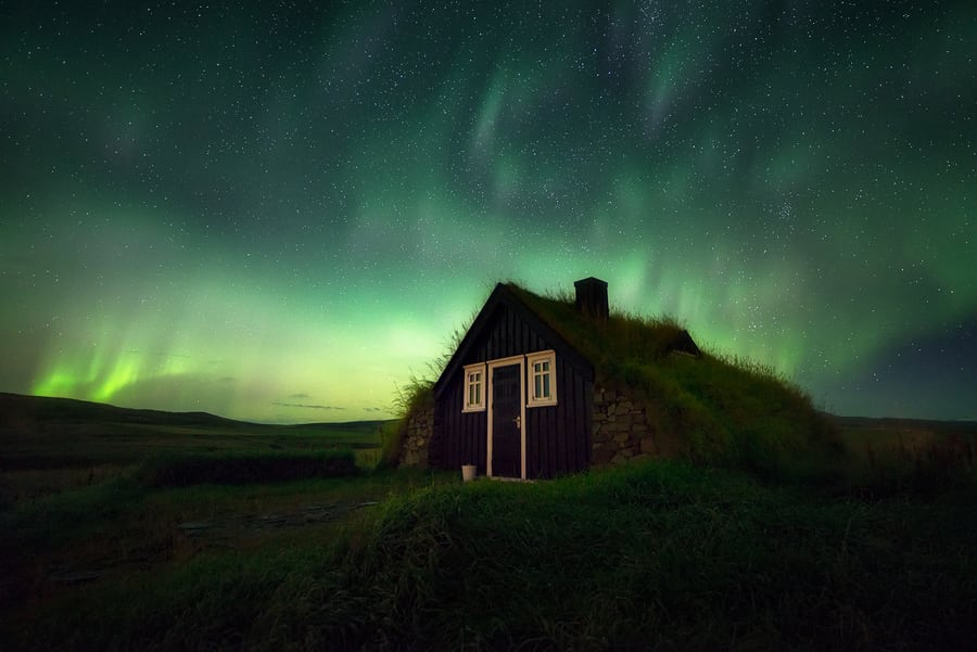 aurora season in Iceland