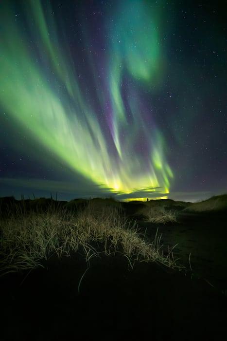 auroras boreales en stokksnes islandia mejores sitios para verla