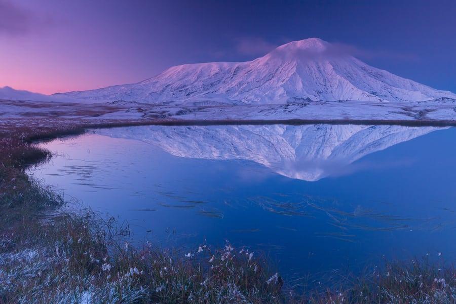 Parque Nacional de Klyuchevskoya kamchatka tour fotografico