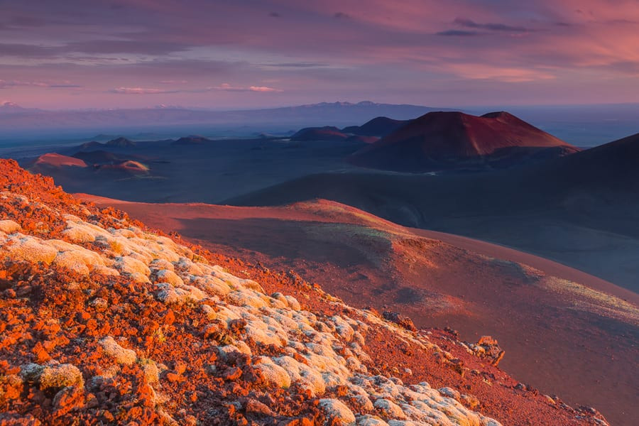 atardecer mejores imagenes de kamchatka viaje para fotografos cono volcanico