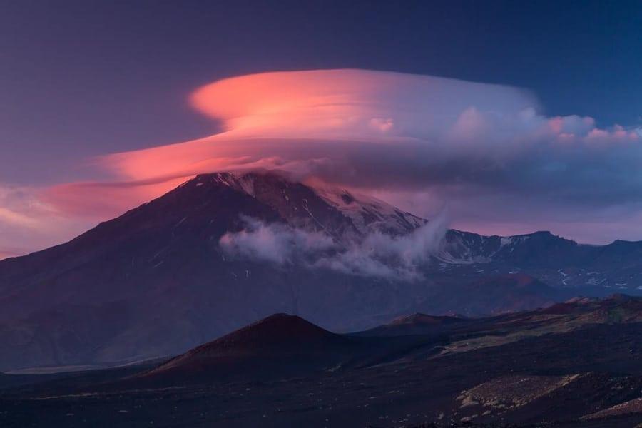 nubes lenticulares kamchatka viaje organizado para fotografos en grupo