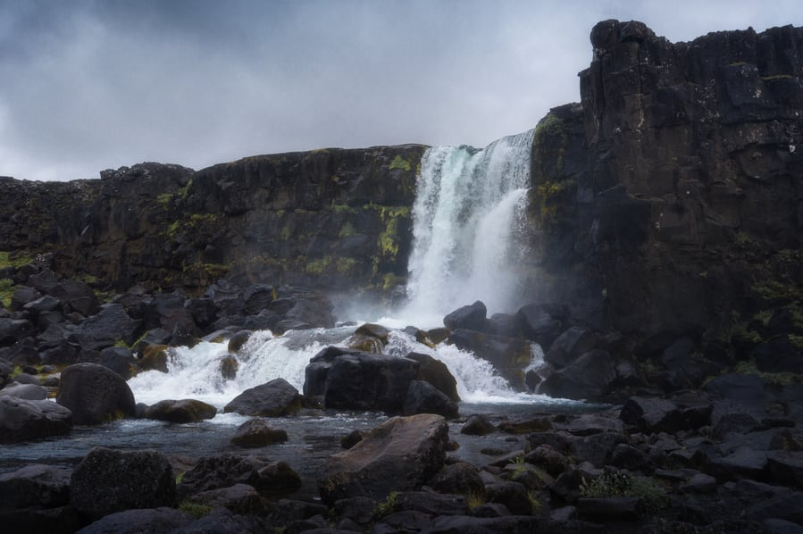 must-see places in iceland when to travel Öxaráfoss.
