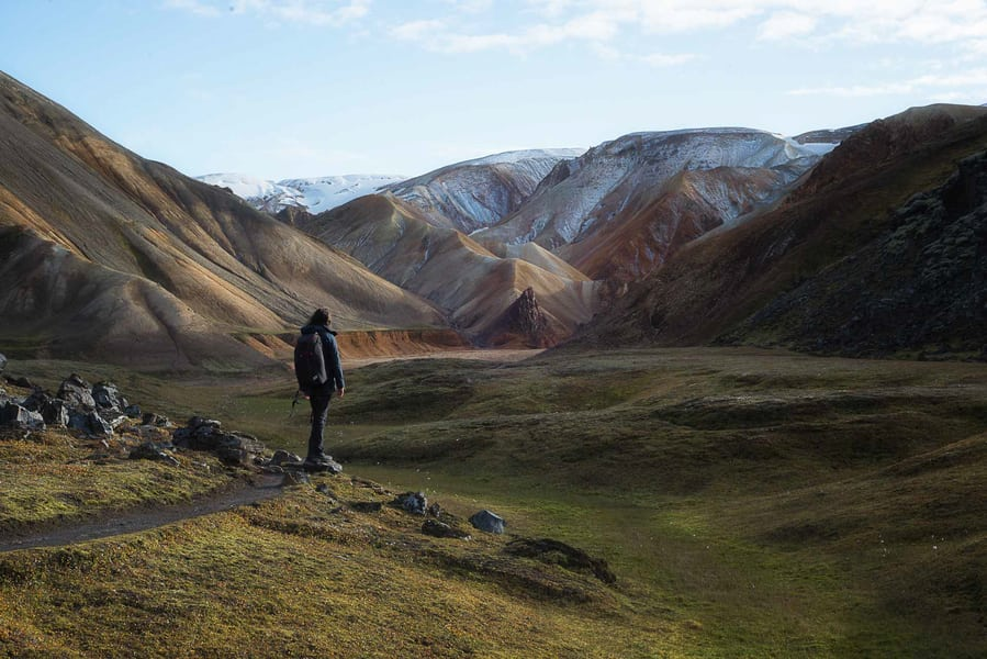 best things to do in iceland highlands landmannalaugar hike