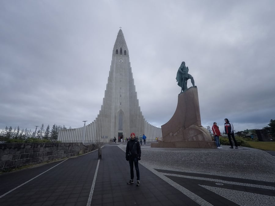 Hallgrímskirkja, one of the most important things to visit in Reykjavík