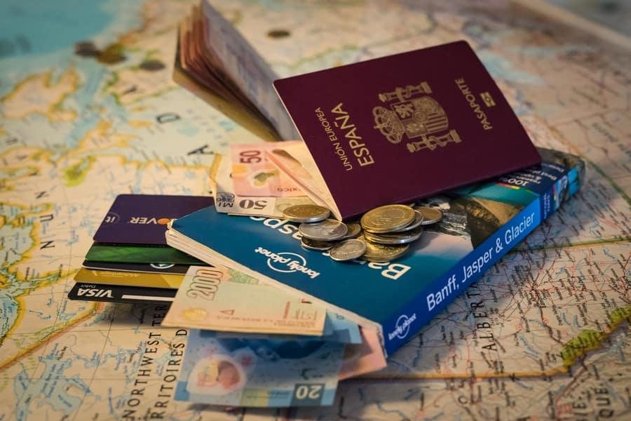 Tarjetas para viajar sin comisiones