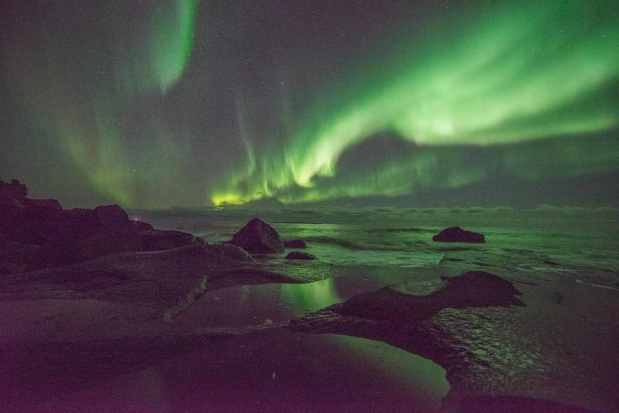 Noise in Northern Lights Photos