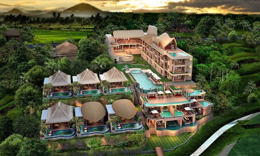 udaya resorts and spa best private villa in bali