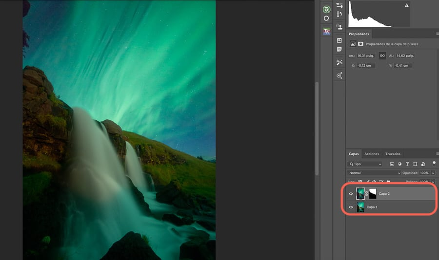 Reduce noise in Photoshop blending