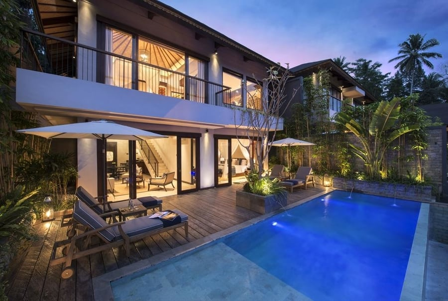 low price villas in bali samsara ubud