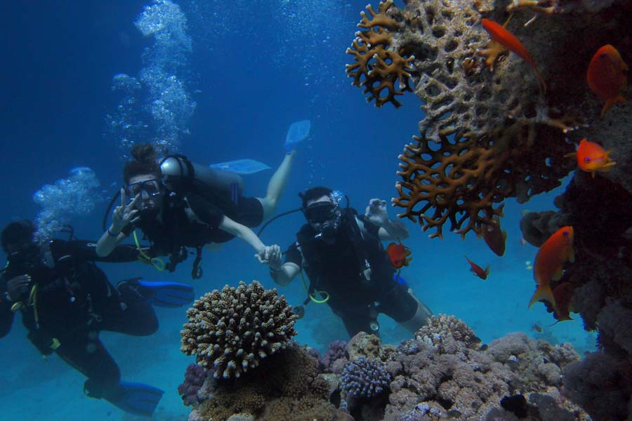 snorkeling in the gili islands