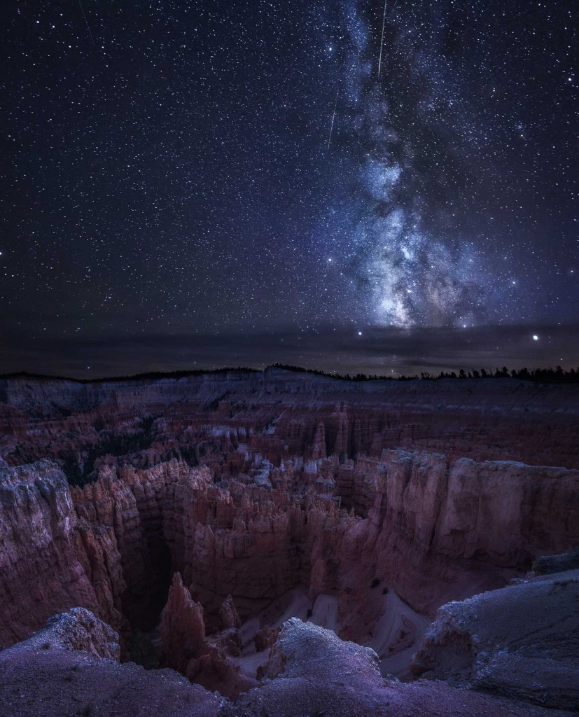 """Milky Way at Bryce Canyon"" – Sandra Metzbauer"