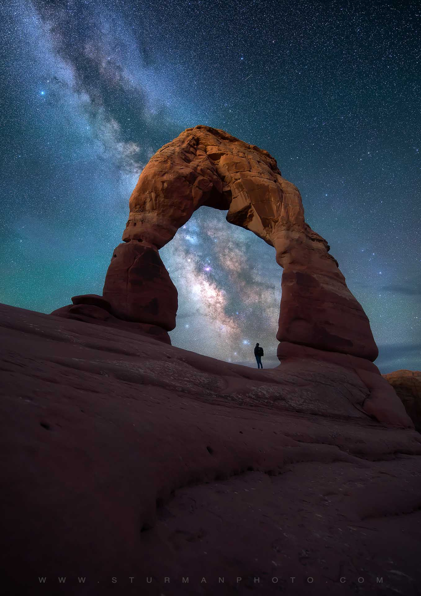 Best Milky Way image Arches National Park Utah USA