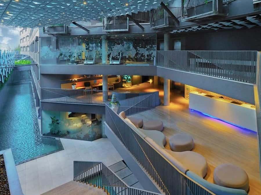 Es uno de los hoteles más románticos de Bali