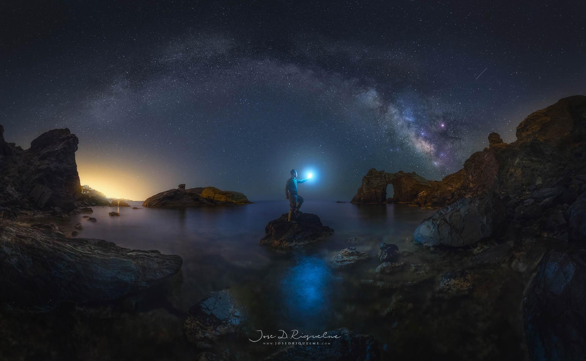 Milky Way Photograph Spain Murcia
