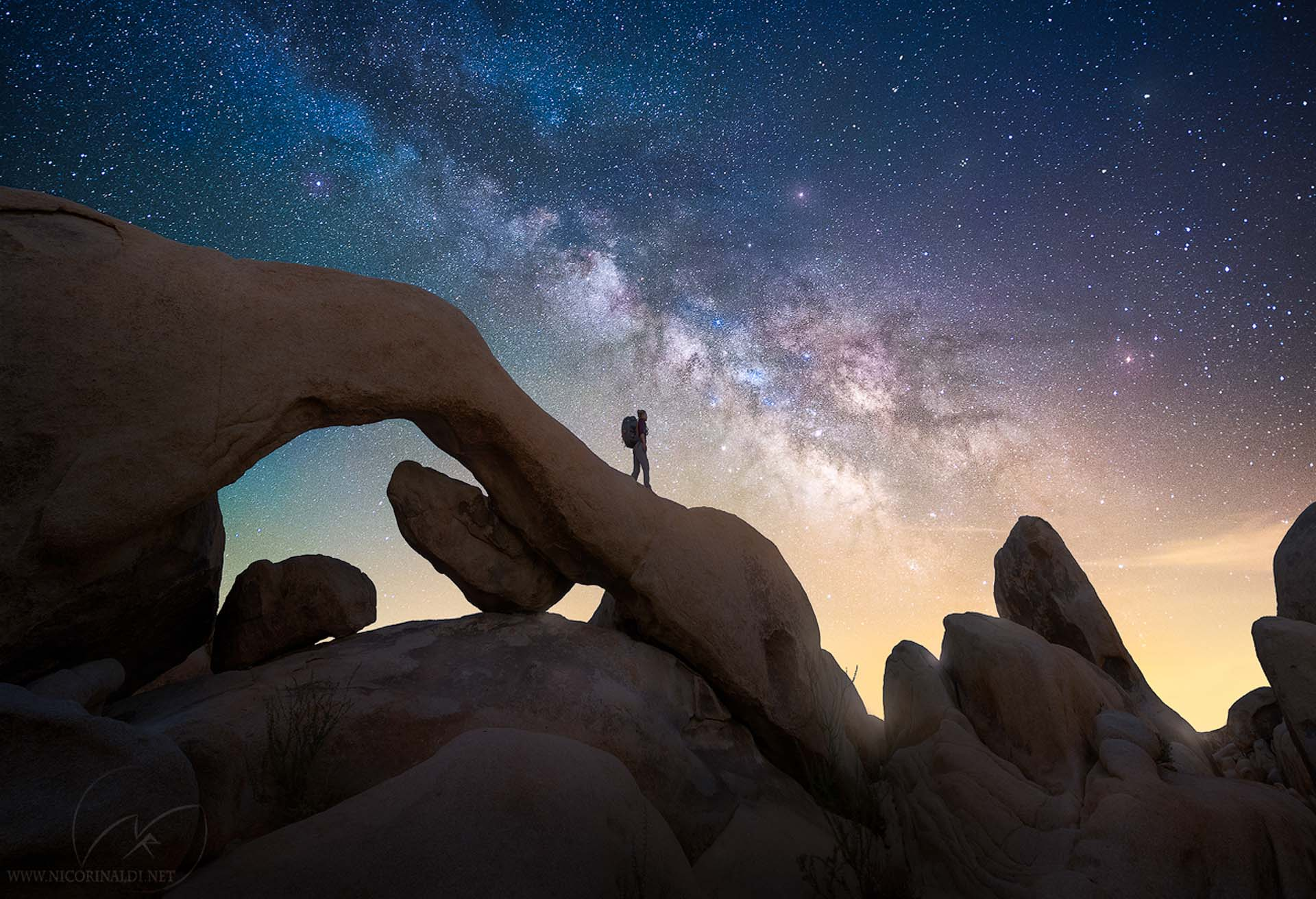 Milky Way Utah USA night photography