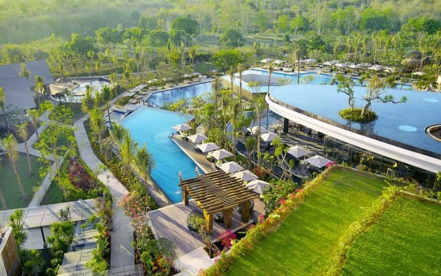 Hotel de lujo en Bali oferta RIMBA Jimbaran Bali by Anaya zona más popular para alojarse en Bali